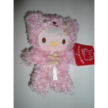 PELUCHE HELLO KITTY SANRIO ORIGINALE - 18 cm -
