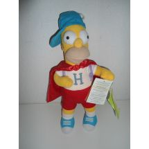 Peluche pupazzo Simpson Super Homer - 33 cm -
