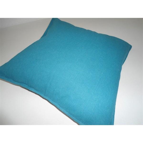 Federa cuscino arredo copricuscino fodera divano letto verde petrolio tutto per il pulito - Divano verde petrolio ...