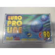 AUDIO CASSETTA EURO PRO LINE C90 NUOVE SIGILLATE