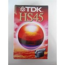 VIDEOCASSETTA TDK HS45 VHSC NUOVA SIGILLATA