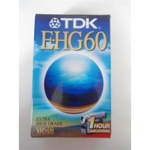 VIDEOCASSETTA TDK E-HG60 VHSC NUOVA SIGILLATA
