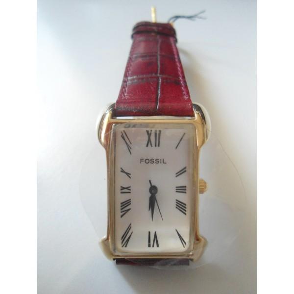 Orologio da polso fossil quadrante bianco rettangolare for Immagini orologi da polso