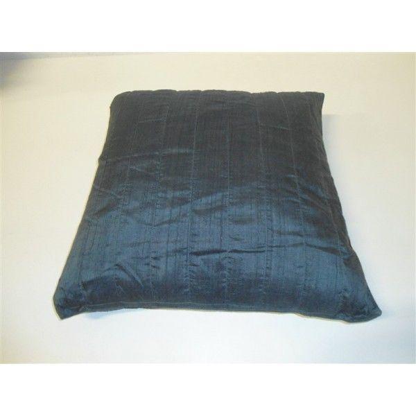 Cuscino arredo mereville seta poltrona divano letto salotto verde petrolio ebay - Divano verde petrolio ...