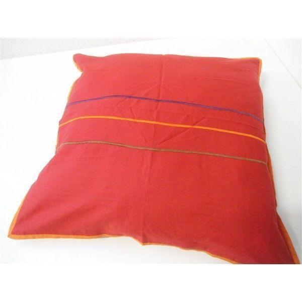 Federa cuscino arredo paniker copricuscino fodera divano letto 60x60 cm ross ebay - Divano profondo 60 cm ...