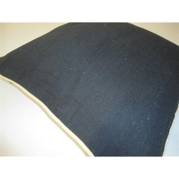 Federa cuscino arredo paniker copricuscini fodere divano letto 60x60 cm ner ebay - Divano profondo 60 cm ...