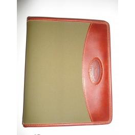 Porta rubrica in pelle Ornalook - porta agenda - organizer -