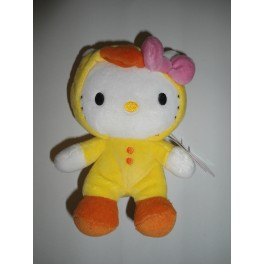 PELUCHE HELLO KITTY SANRIO ORIGINALE - 15 cm -