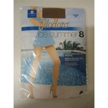 CALZE COLLANT FILODORO ICE SUMMER 8 DEN Mis 2-S GLACE'