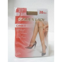 GAMBALETTO 2 PAIA GOLDEN LADY CALZE CIAO 20 DEN ONE SIZE MELON