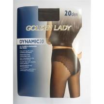 CALZE COLLANT MODA GOLDEN LADY DYNAMIC 20 DEN Mis 4-L FUMO
