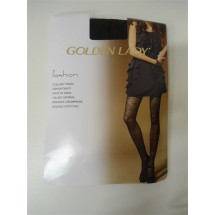 CALZE COLLANT MODA GOLDEN LADY FASHION LUNA Mis 4-L NERO