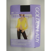 CALZE COLLANT GOLDEN LADY TEENS Microfibre 40 DEN Mis 3-M LAVAGNA