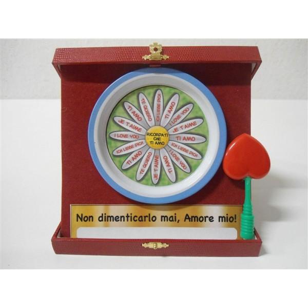 Gadget san valentino targa da tavolo in scatola - Scatola portafrutti da tavolo ...