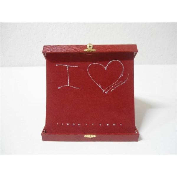 Gadget san valentino targa da tavolo in scatola cuore - Scatola portafrutti da tavolo ...