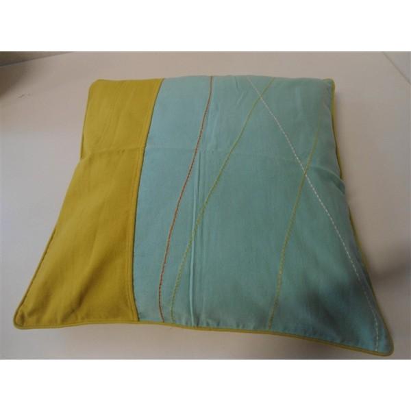 Federa cuscino arredo paniker copricuscino fodera divano - Divano profondo 60 cm ...