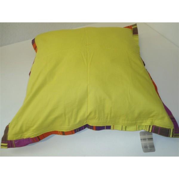 Federa cuscino arredo paniker copricuscino cotone fodera for Divano 60 cm