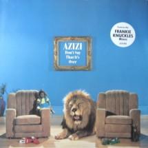 AZIZI - DON'T SAY THAT IT'S OVER - 1991 DISCO VINILE 33 GIRI
