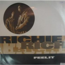 RICHIE RICH - FEEL IT - DISCO VINILE 33 GIRI