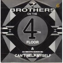 2 BROTHERS ON THE 4 TH FLOOR - CAN'T HELP MYSELF - 1991 DISCO VINILE 33 GIRI