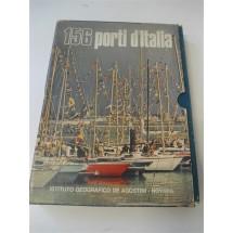 LIBRO 156 PORTI D'ITALIA - ISTITUTO GEOGRAFICO DE AGOSTINI - EDIZIONE 1974