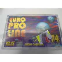 AUDIO CASSETTA EURO PRO LINE C74 NUOVE SIGILLATE