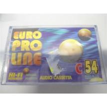 AUDIO CASSETTA EURO PRO LINE C54 NUOVE SIGILLATE
