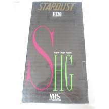 VIDEO CASSETTA VHS STARDUST SHG E120 NUOVA SIGILLATA