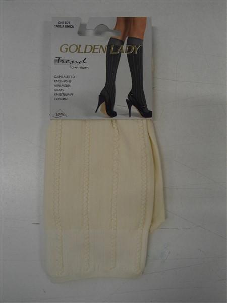 GAMBALETTO GOLDEN LADY TREND FASHION CALZE TRENDY TENDENZA MODA GLAMOUR G.GEMELL
