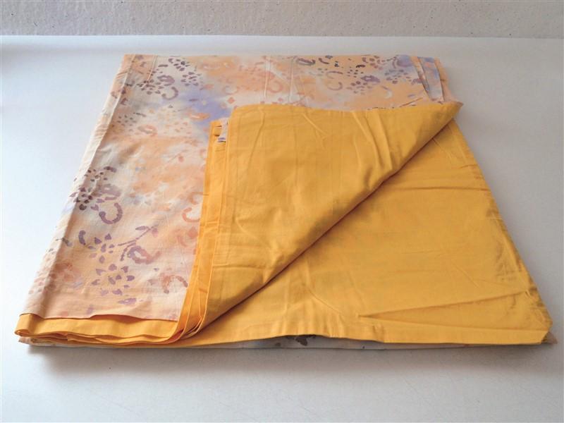 Letto Matrimoniale Giallo : Copripiumino per letto matrimoniale paniker giallo salmone 240 x 250